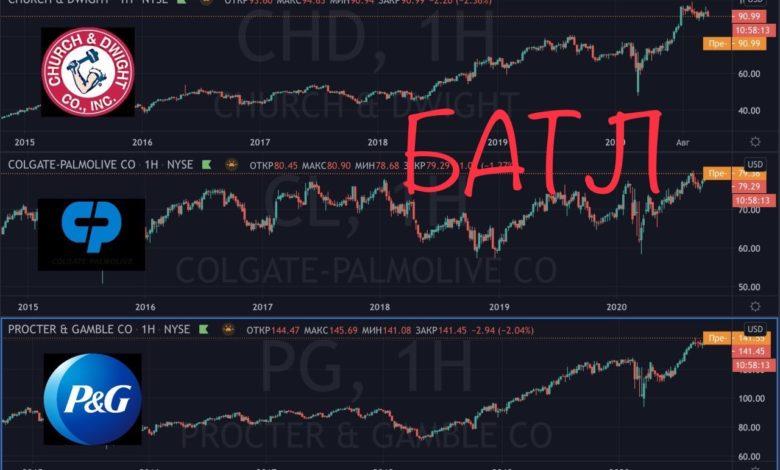 Photo of Сравнение компаний CHD vs CL vs PG